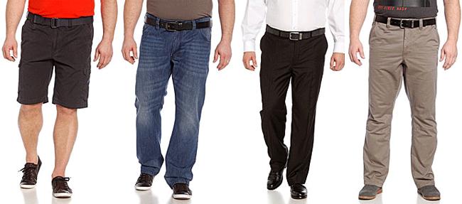 Hosen für mollige Männer