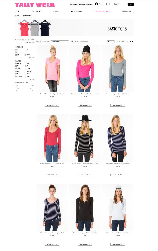 Tally Weijl Tops and Shirts